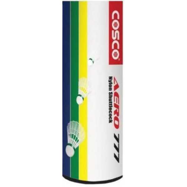 Cosco Aero 777 Nylon Shuttle Cock (Pack Of 6) - Green
