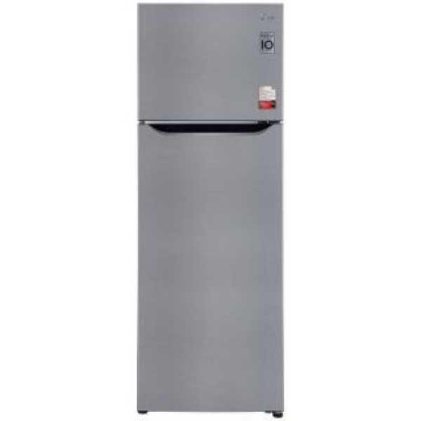 LG GL-S322SPZY 308 L 2 Star Inverter Frost Free Double Door Refrigerator