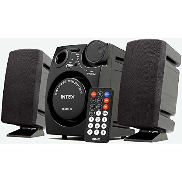 Intex IT-881U 2 1 Multimedia Speaker