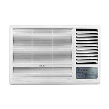 Hitachi Kaze RAW222KVD 2 Ton 2 Star Window Air Conditioner - Brown | White