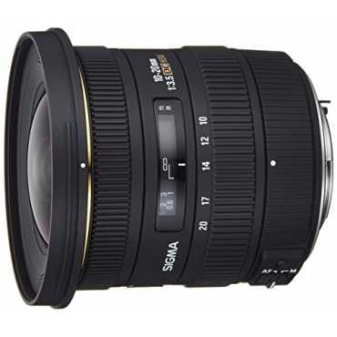 Sigma 10-20mm f/3.5 EX DC HSM Zoom Lens (For Pentax DSLR) - Black