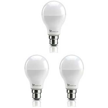 Syska ssk-srl 20w Standard B22 2000L LED Bulb (White,Pack of 3) - White