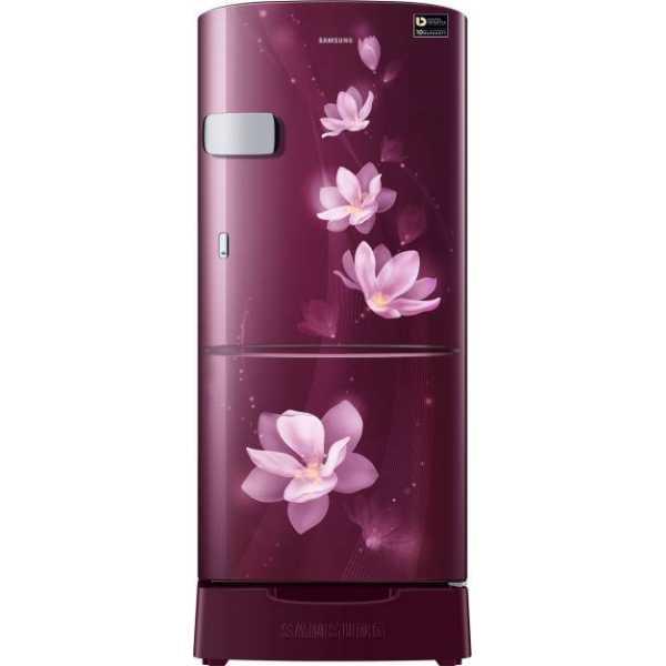 Samsung RR20M2Z2XR7/RR20M1Z2XR7 192L 5S Single Door Refrigerator (Magnolia ) - Blue