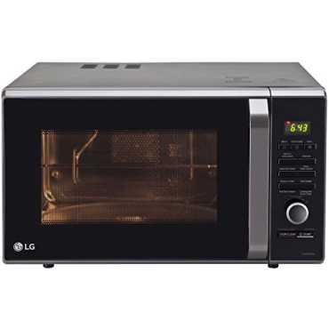 LG MJ2886BFUM 28L Convection Microwave Oven - Black