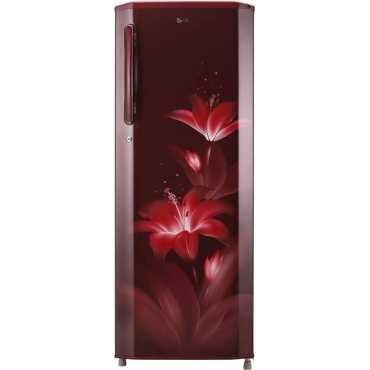 LG GL-B281BBGX 270 L 4 Star Inverter Direct Cool Single Door Refrigerator (Glow) - Blue