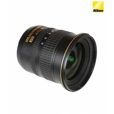 Nikon AF-S DX Zoom-Nikkor 12-24mm f/4G IF-ED (2.0x) Lens - Black