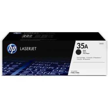 HP 35A Black LaserJet Toner Cartridge - Black
