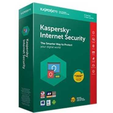 Kaspersky Internet Security 2018 1 PC 1 Year Antivirus