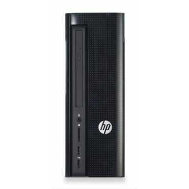 HP Slimline 260-A062IL (W2T64AA) (Intel J3060/4GB/1TB/DOS/Wi-Fi) Desktop - Black