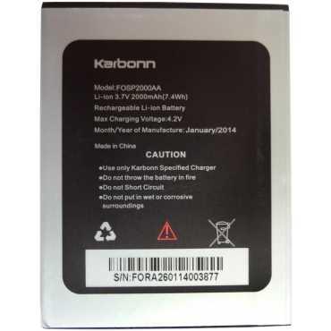 Karbonn A26 Battery - Yellow
