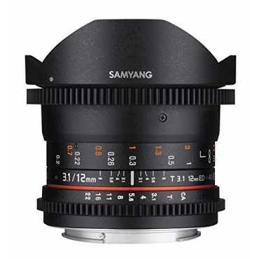 Samyang 12mm T3.1 VDSLR ED AS NCS Fish-eye Lens