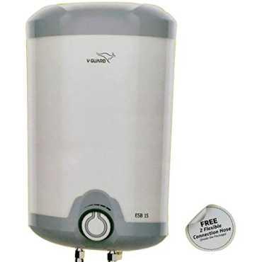 V-Guard ESB 15 L Storage Water Heater - White