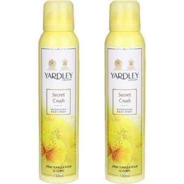 Yardley London Mist Deodorant Spray Body Mist Set of 2