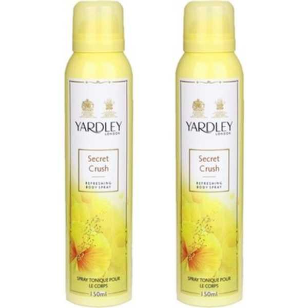 Yardley  London Mist Deodorant Spray Body Mist (Set of 2)
