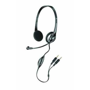 Plantronics Audio 326 Stereo Headset - Black