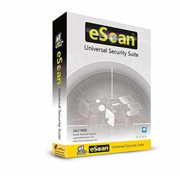 eScan Universal Security Suite 4 PC 3 Year Antivirus