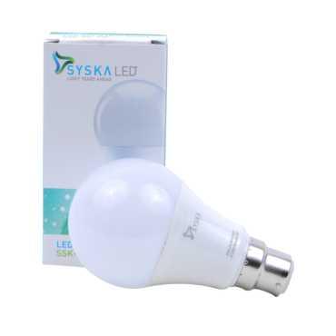 Syska 7W Plastic LED Bulb White