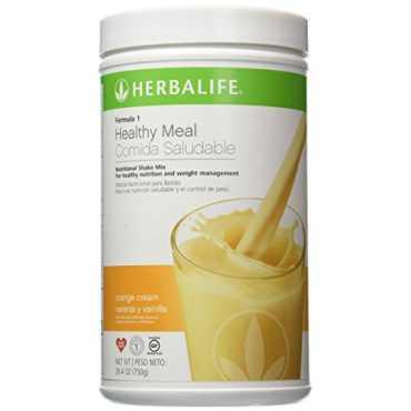 Herbalife Nutritional Shake Mix (500g, Orange Cream) - Orange | White
