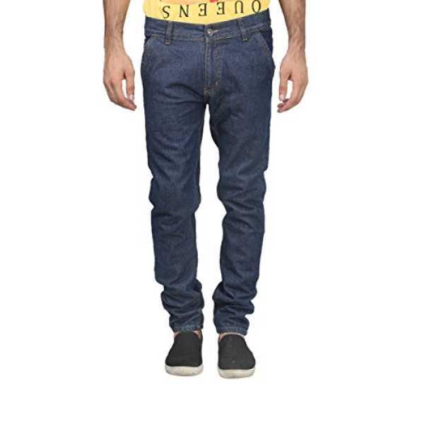 Trendy Trotters Mens Denim Jeans (Ttj1Crsnl-D32. _Dark Blue _32)