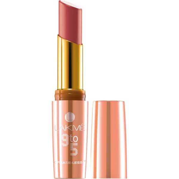 Lakme  9 to 5 Crease-less Lipstick (CP12 Peach Path)