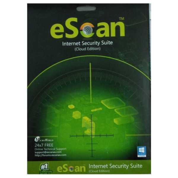 eScan Internet Security 2018 (1 PC, 1 Year)
