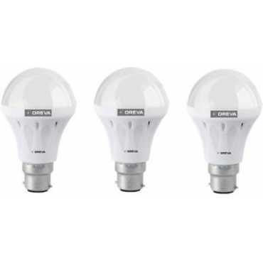 Oreva 10W White LED Bulb (Pack Of 3) - White
