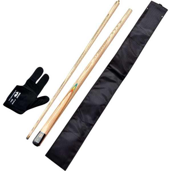 JBB Gloves cue cover bridge cue Combo Set