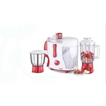 Prestige 41119 550 W Juicer Mixer Grinder (2 Jars) - Red