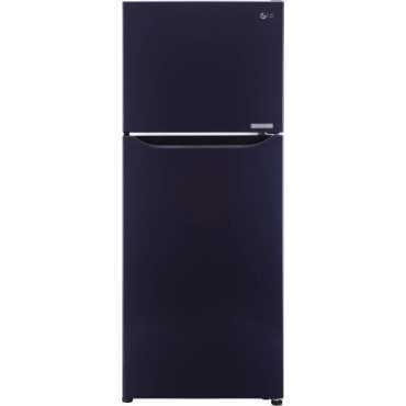 LG GL-C292SCPU 260 L 3 Star Inverter Frost Free Double Door Refrigerator - Purple