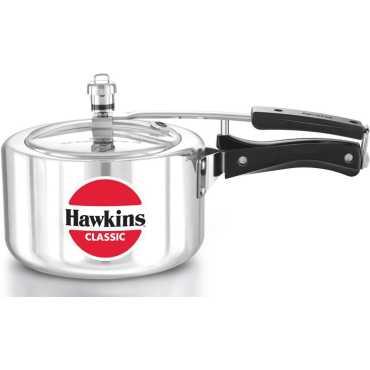 Hawkins Classic A30 Wide Aluminium 3 L Pressure Cooker (Inner Lid) - Silver