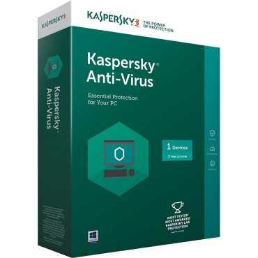 Kaspersky Antivirus 2017 1 PC 3 Year Antivirus