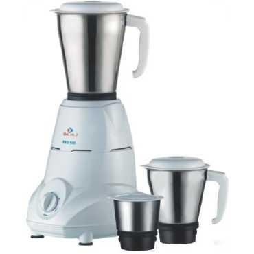 Bajaj REX 500W Mixer Grinder - White