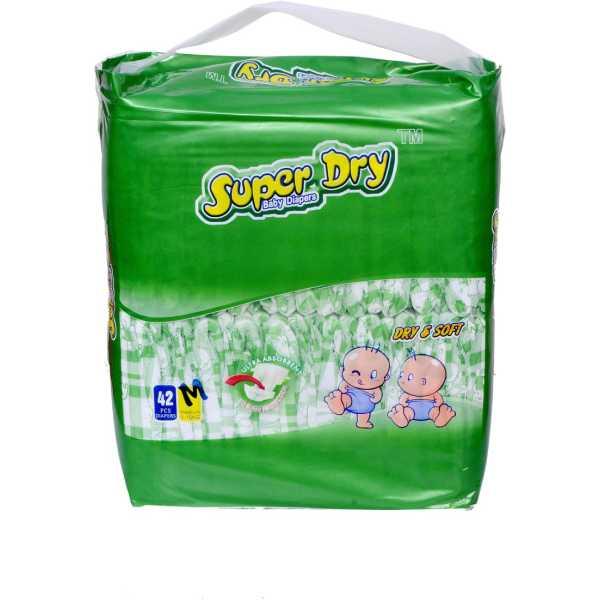 Super Dry Baby Diapers Medium (1 Piece)