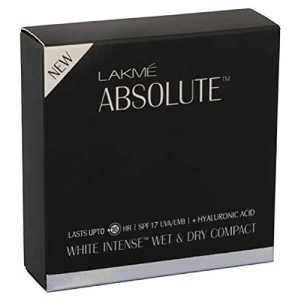 Lakme  Absolute White Intense SPF 25 Skin Cover Foundation (Golden Medium 03) - Gold | White