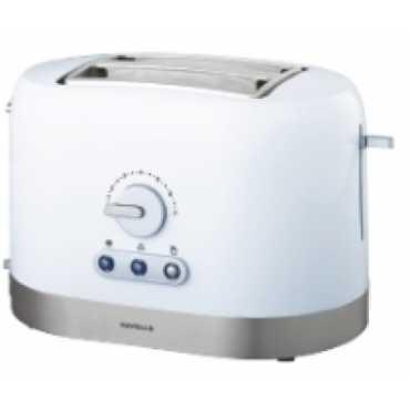 Havells Ovale Pop Up Toaster - White | Black