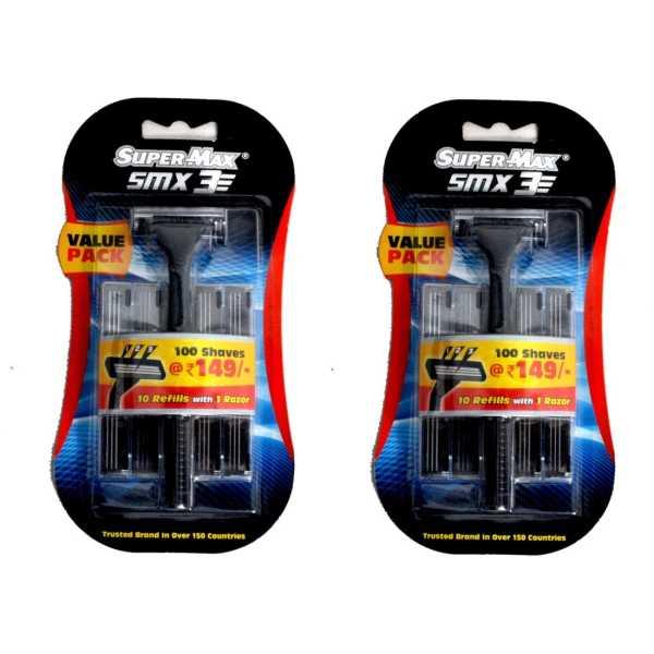 Supermax Smx 3 Razor (2 Blades)