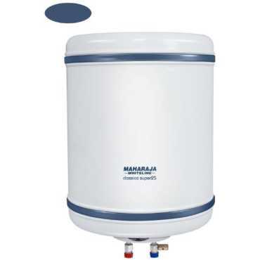 Maharaja Whiteline Classico Super-25 25 Litres Storage Water Geyser - White
