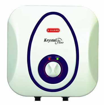 V-Guard Krystal Plus 10 Litres Storage Water Geyser - White