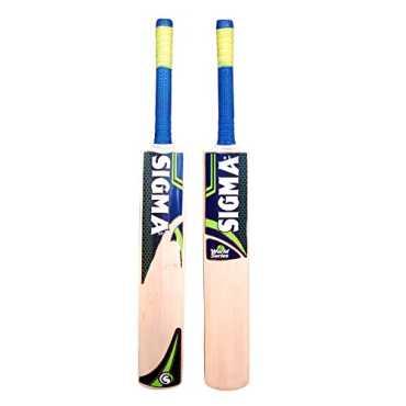Sigma World Series Kashmir Willow Size 5 Cricket Bat