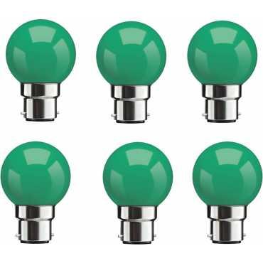 Syska 0 5W Green LED Bulbs Pack Of 6