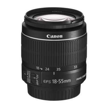 Canon EF-S 18-55mm f/3.5-5.6 IS II Lens - Black