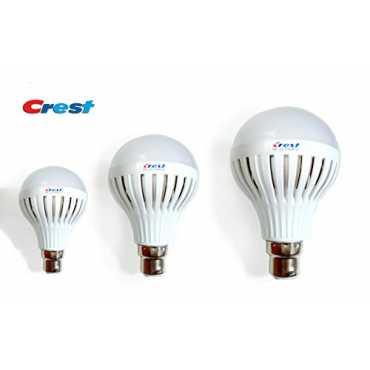 Crest 3W 5W 7W B22 LED Light Bulb Set Of 3