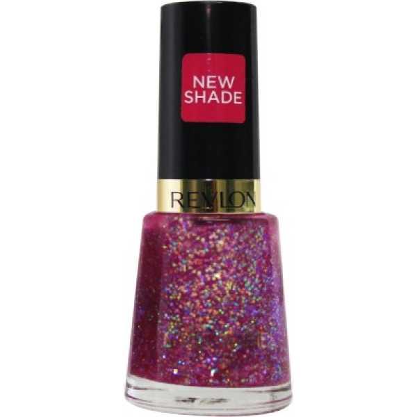 Revlon Glitzy Nights Nail Enamel Sparkle (Pink) - Pink