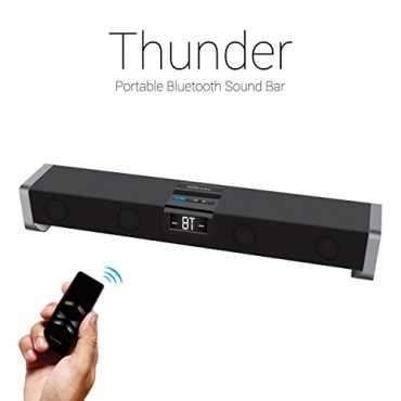 Portronics Thunder Bluetooth Soundbar Speaker - Black