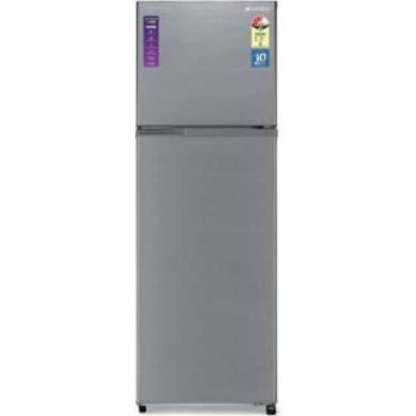 Sansui 340JF3SNDS 338 L 3 Star Inverter Frost Free Double Door Refrigerator