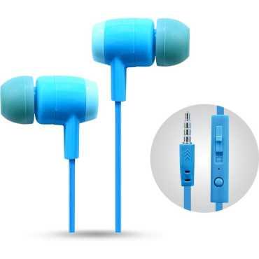 Muven MV-210MSBL Echo Budz In the Ear Headset - Blue