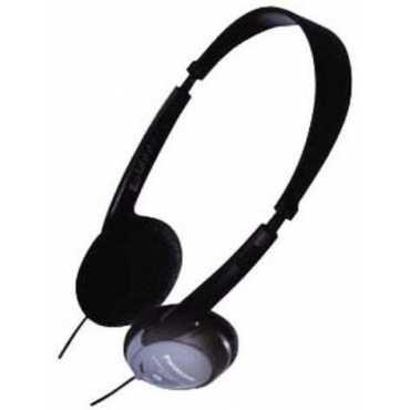 Panasonic RP-HT24 Volume Control Headphones - Black