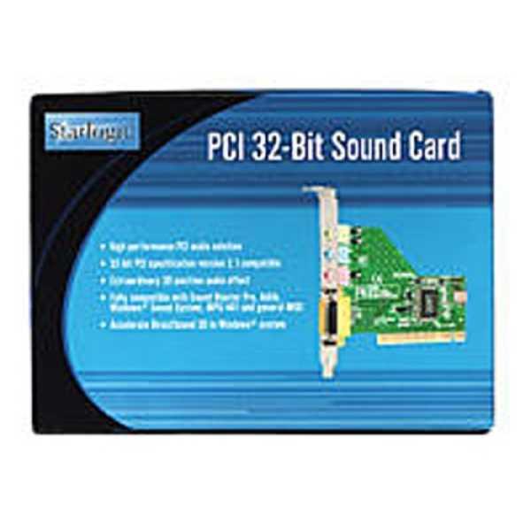 Starlogic (11000247) PCI 32-Bit Sound Card