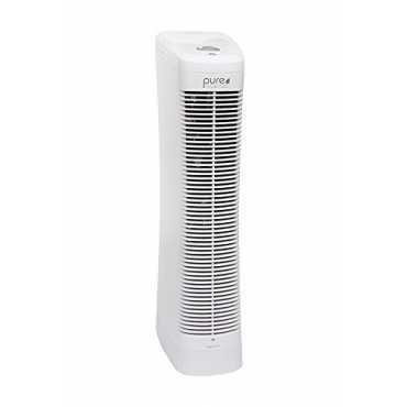 Lasko A554IN Portable Tower Air Purifier - White