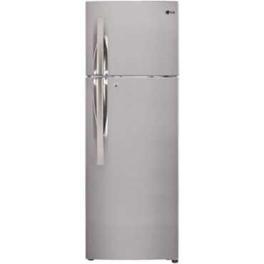 LG GL-T292RPZU 260L 3S Double Door Refrigerator (Shiny Steel)